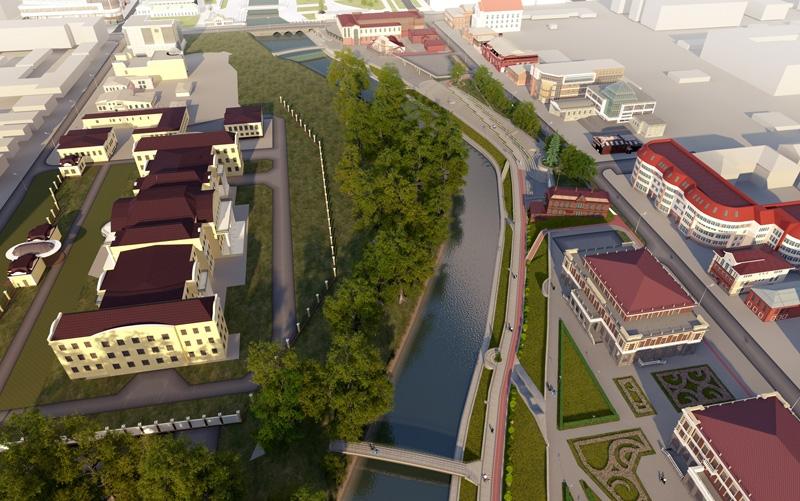 В историческом центре Екатеринбурга построят два ресторана и галерею искусств