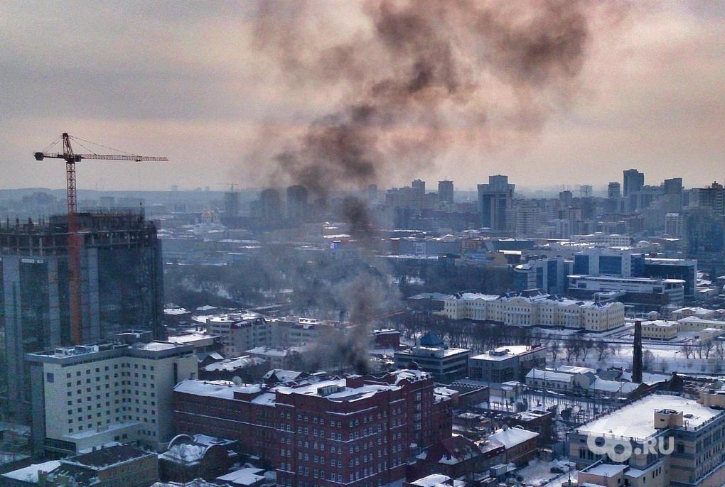 Напротив американского консульства в Екатеринбурге произошел взрыв