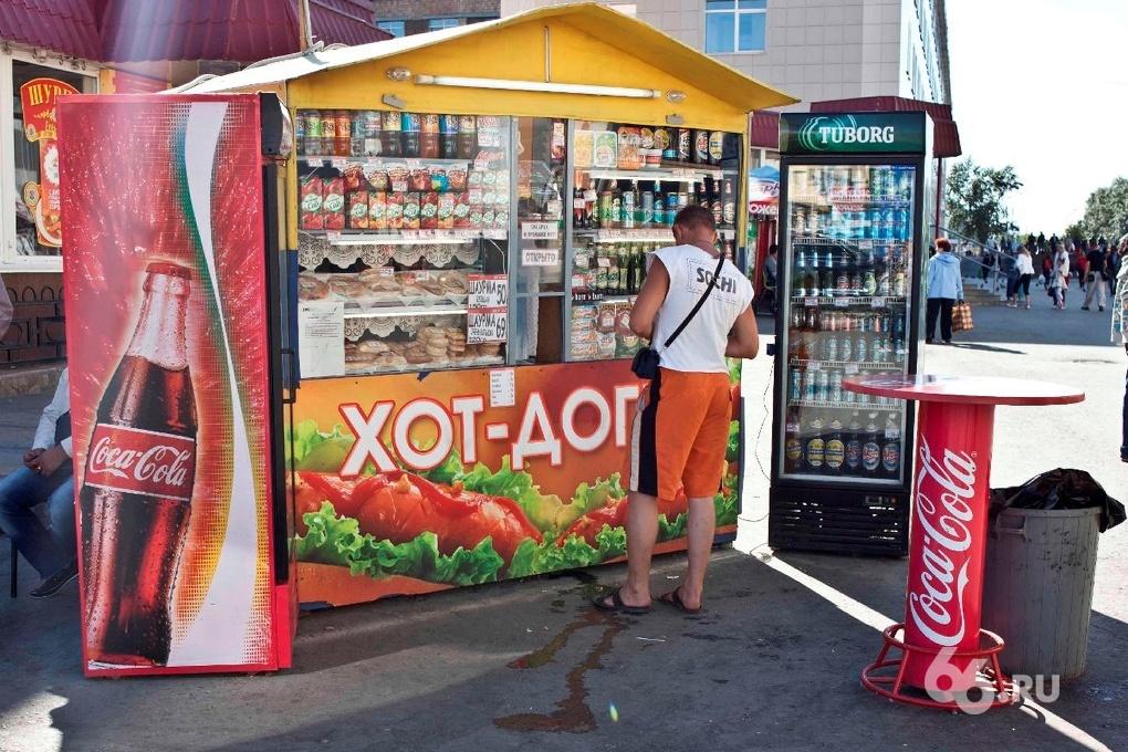 Мэрия отчиталась о сносе 16 трейлеров и киосков с улиц Екатеринбурга