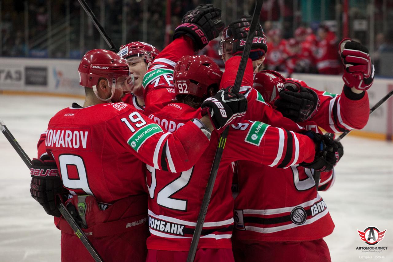 «Автомобилист» забросил четыре безответные шайбы в ворота финского «Йокерита»