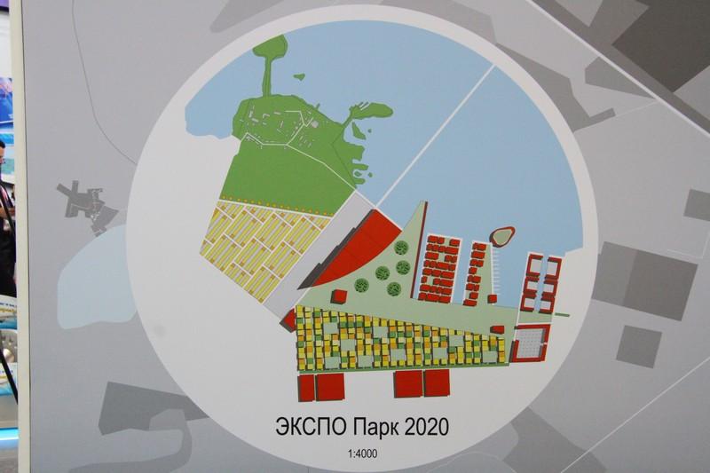 Чернецкий показал Дворковичу, что построят к Экспо-2020