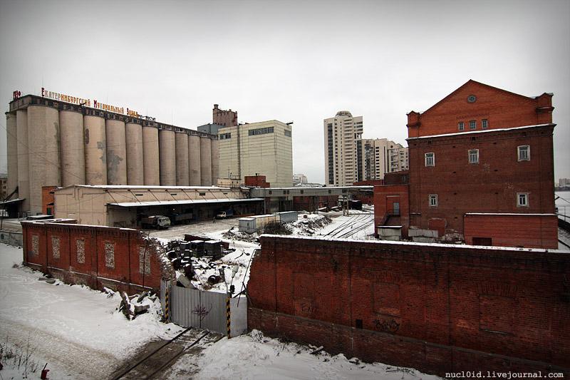 На месте мукомольного завода появится целый квартал