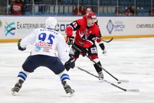 Хоккеисты «Авто» проиграли «Снежным барсам» в ответной встрече