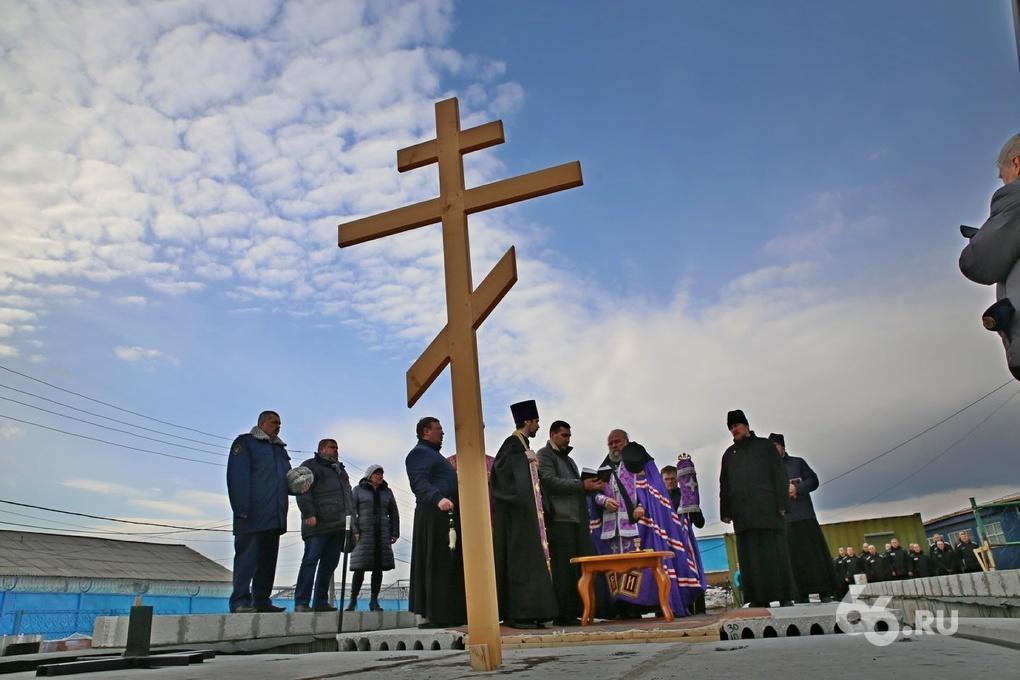 Учредители «Таганского ряда» строят храм в колонии строгого режима