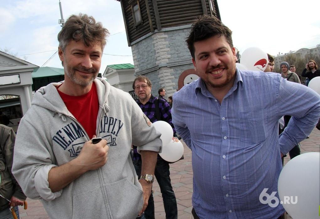 Евгений Ройзман и Леонид Волков стали самыми цитируемыми блогерами