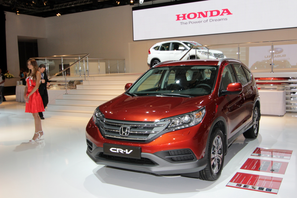 Honda наконец-то довезла до нас новый кроссовер CR-V