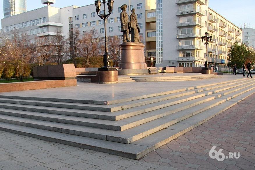 В Екатеринбурге гигантское колесо напомнит водителям о смене шин