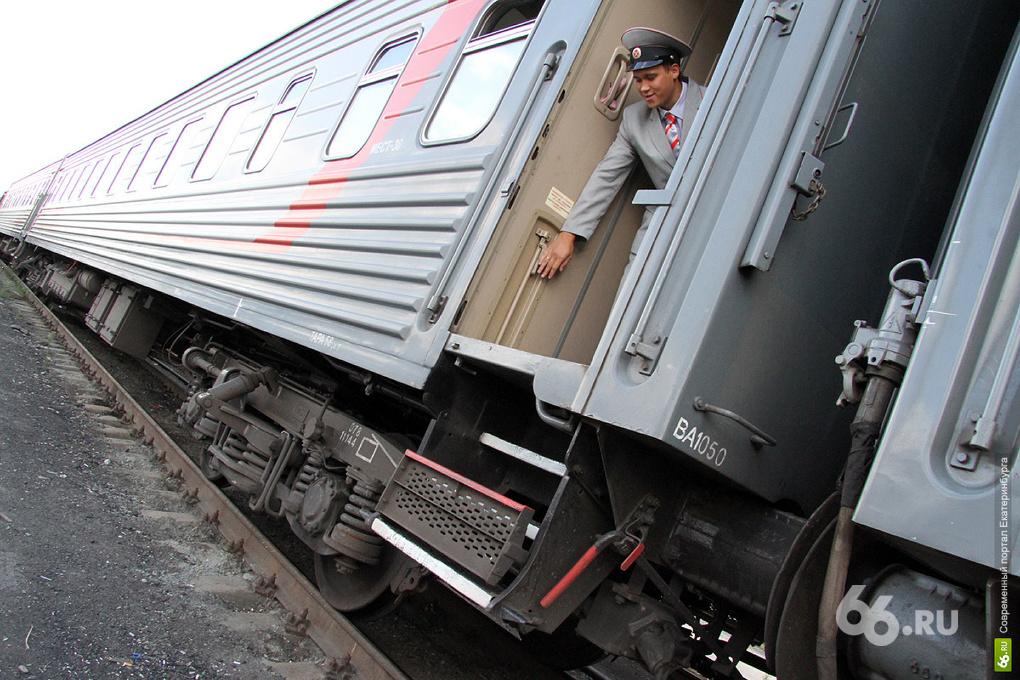 В Камышлове задержали подростка, который кинул под поезд бревно