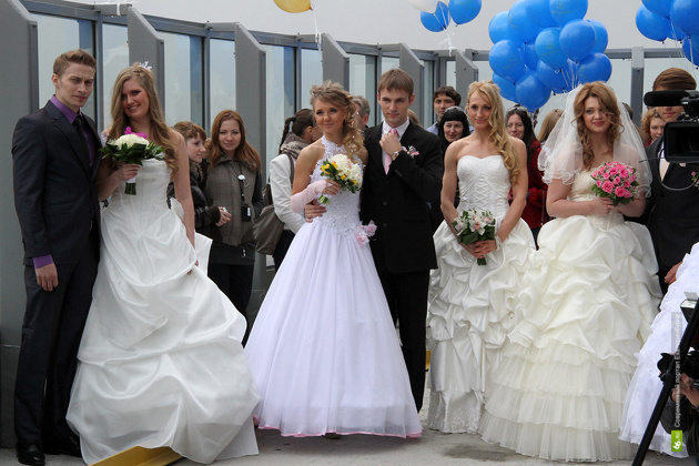404 екатеринбуржца решили пожениться в красивую дату