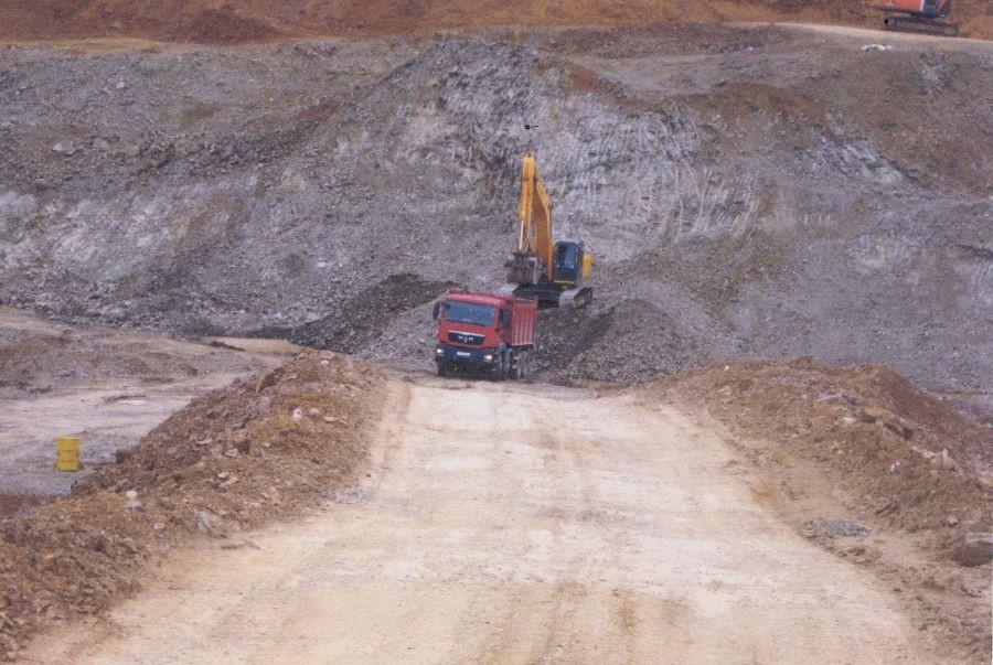 Под Нижней Турой обнаружен незаконный карьер по добыче щебня