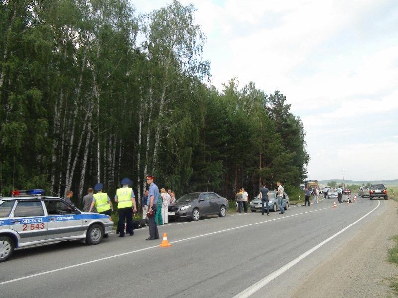 В Чкаловском районе погиб мотоциклист
