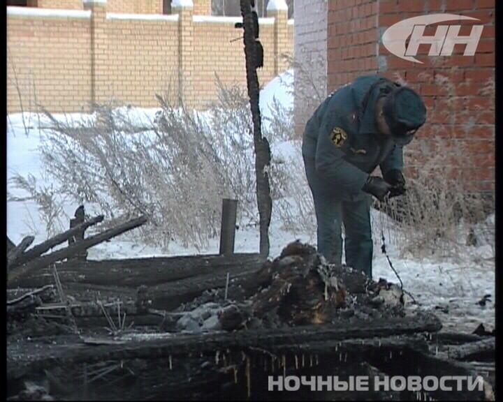 В поселке Лощинка три человека погибли во время пожара
