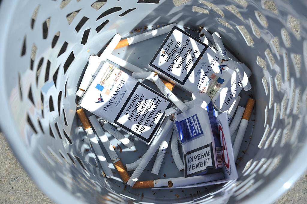 В России создадут горячие линии для желающих бросить курить