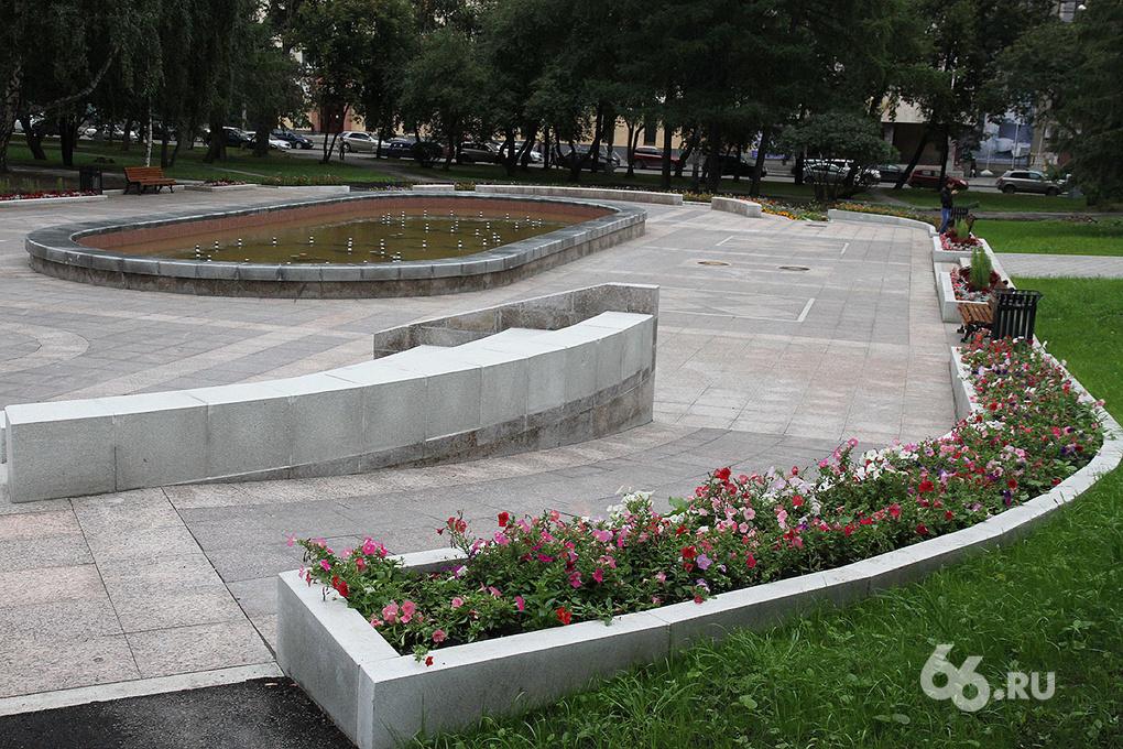 Увидимся за Оперным! В Екатеринбурге откроют отреставрированный фонтан