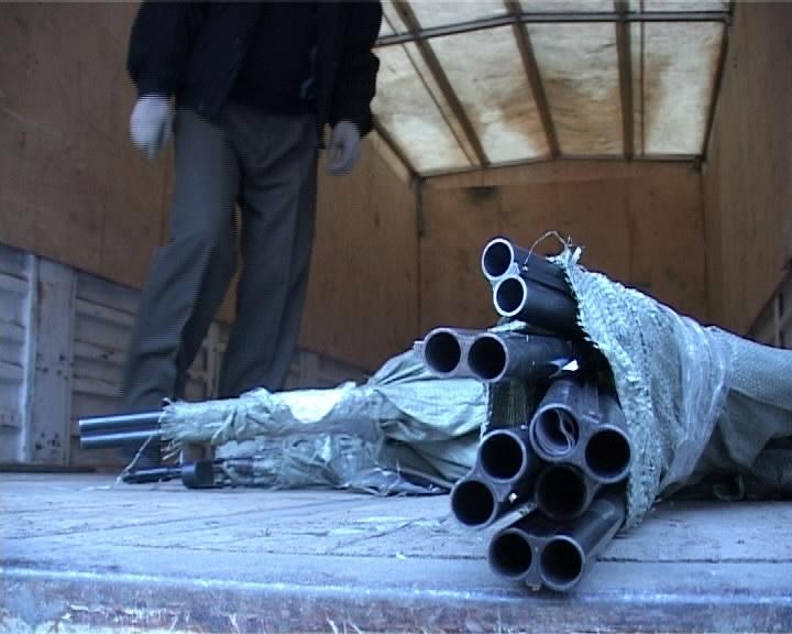 Свердловская полиция отправила в доменную печь 1800 стволов