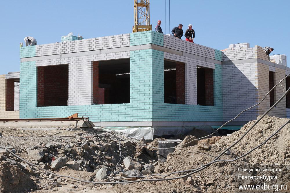 На Уктусе строится самый большой в Екатеринбурге детский сад