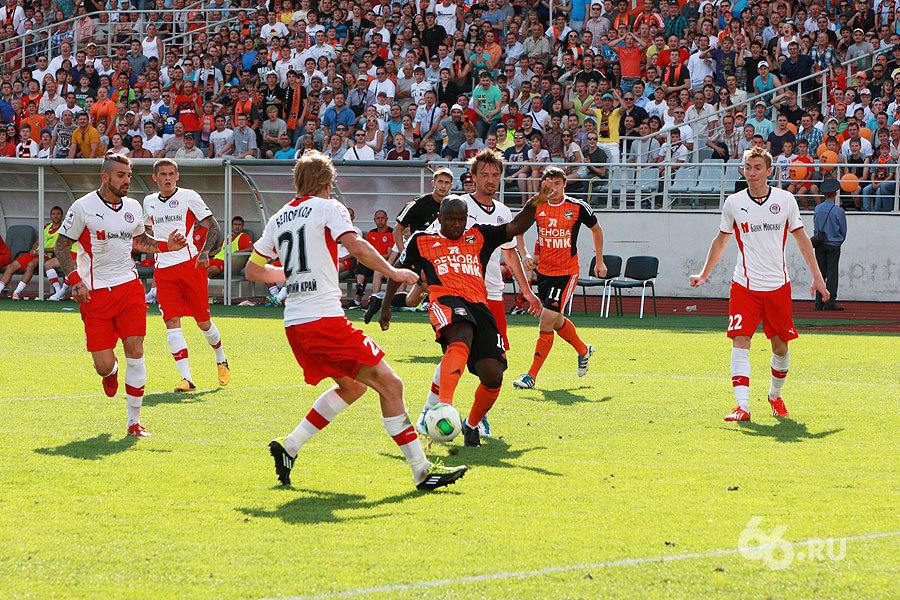 Игра была равна: «Уралу» не хватило креатива в атаке в матче с «Амкаром»
