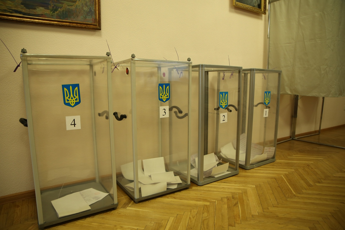 Украинцы в Екатеринбурге крайне вяло выбирают себе президента