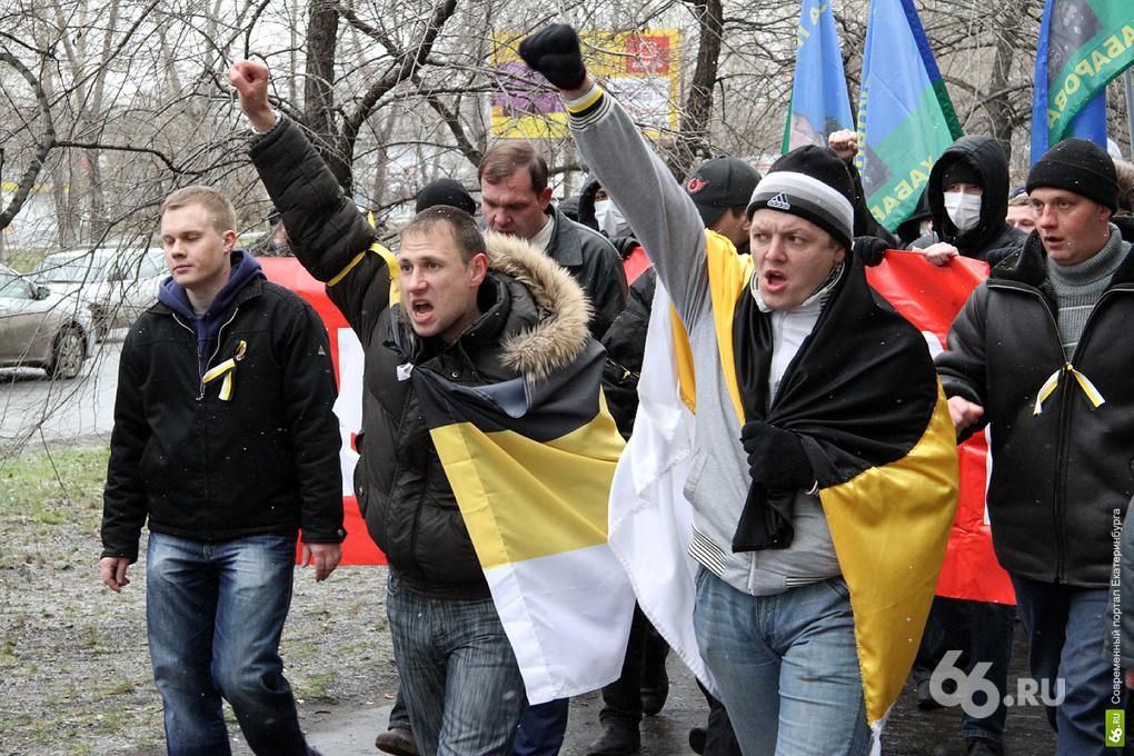 «Русский марш» направили к «Таганскому ряду»
