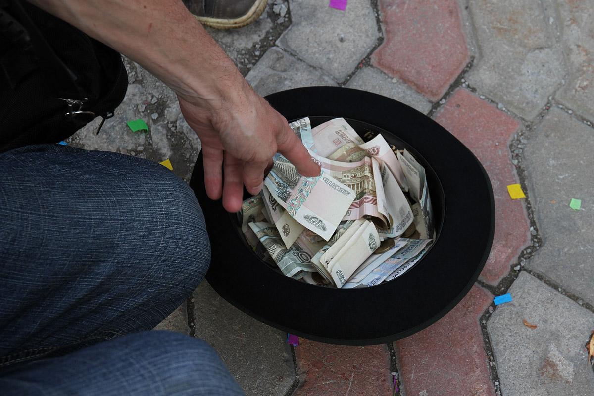 На троечку. Россияне рассказали о своих доходах
