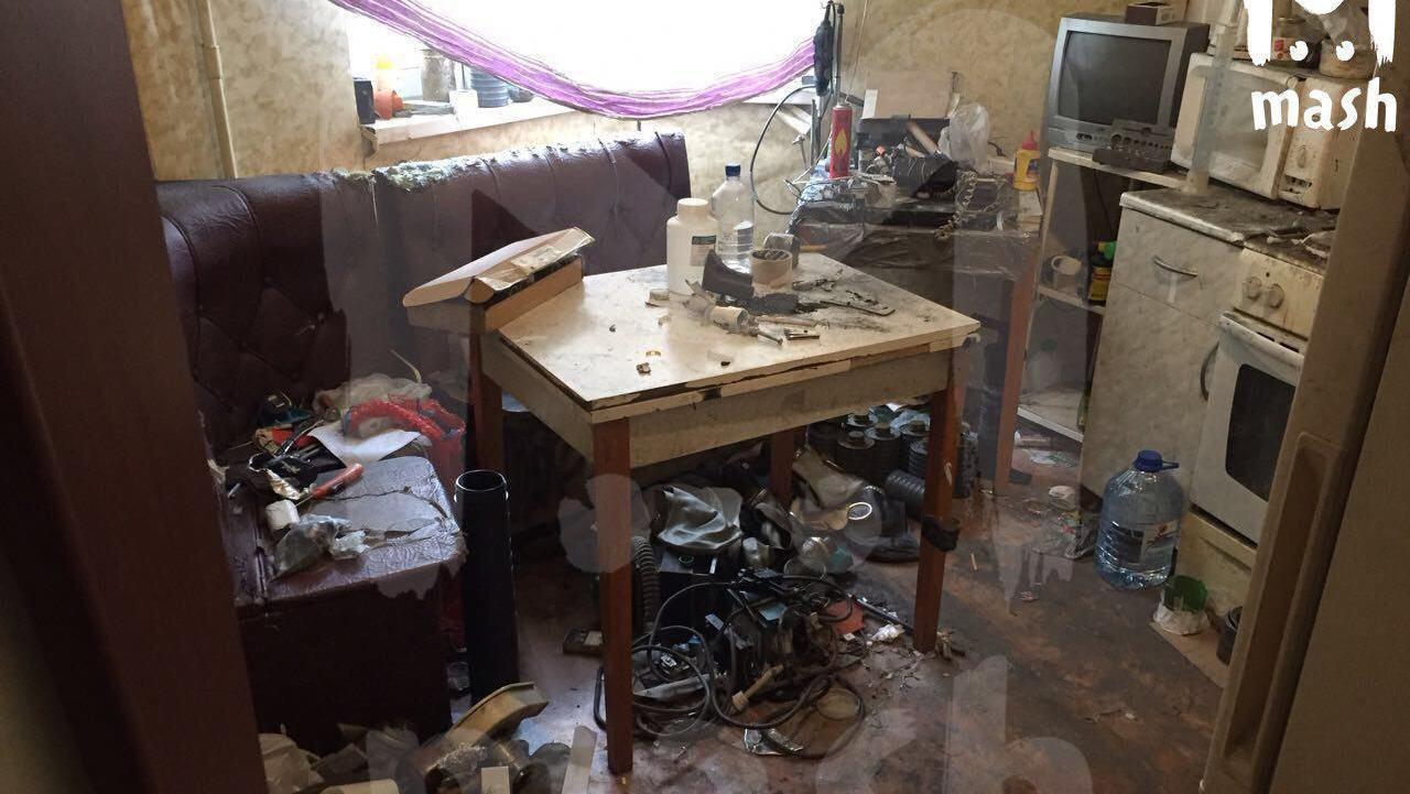 Милиция обезвредит наместе самодельную взрывчатку вжилом доме вБалашихе