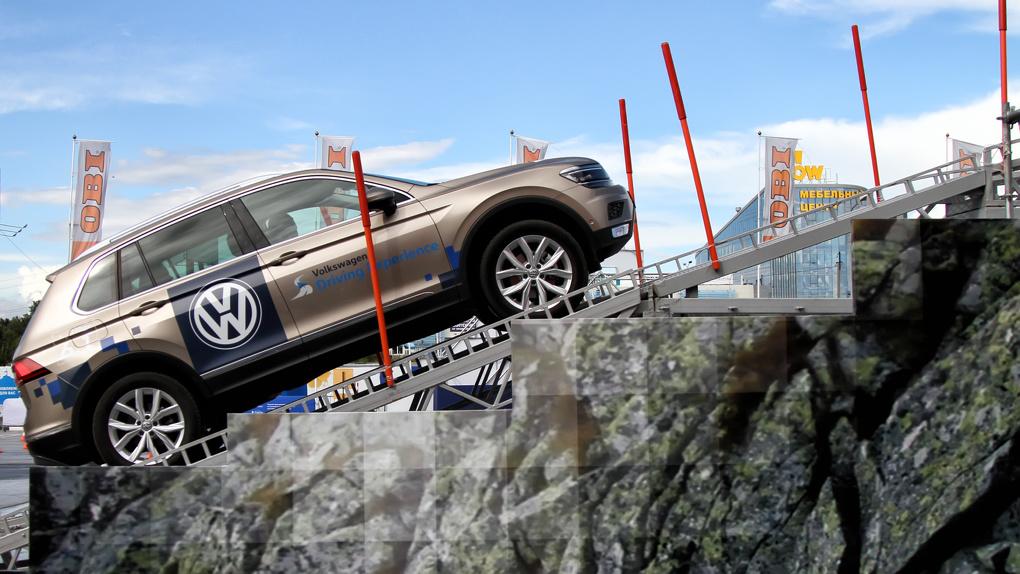 Герой асфальта? Насколько бесполезен новый Volkswagen Tiguan 2017 2.0 TDI вне дороги