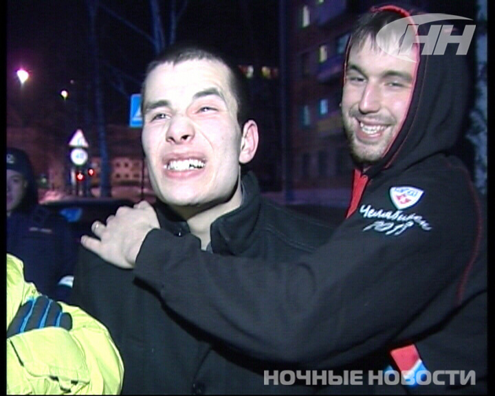 Пьяный хулиган разнес патрульную машину возле «Фан-Фана»