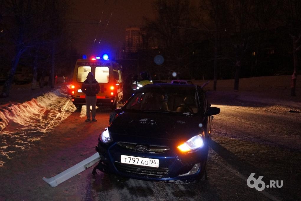 Водитель Niva устроил ночное ДТП на Советской