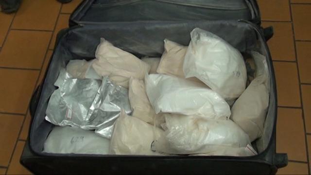 В екатеринбургском гараже наркополиция нашла 41,5 кг «синтетики»