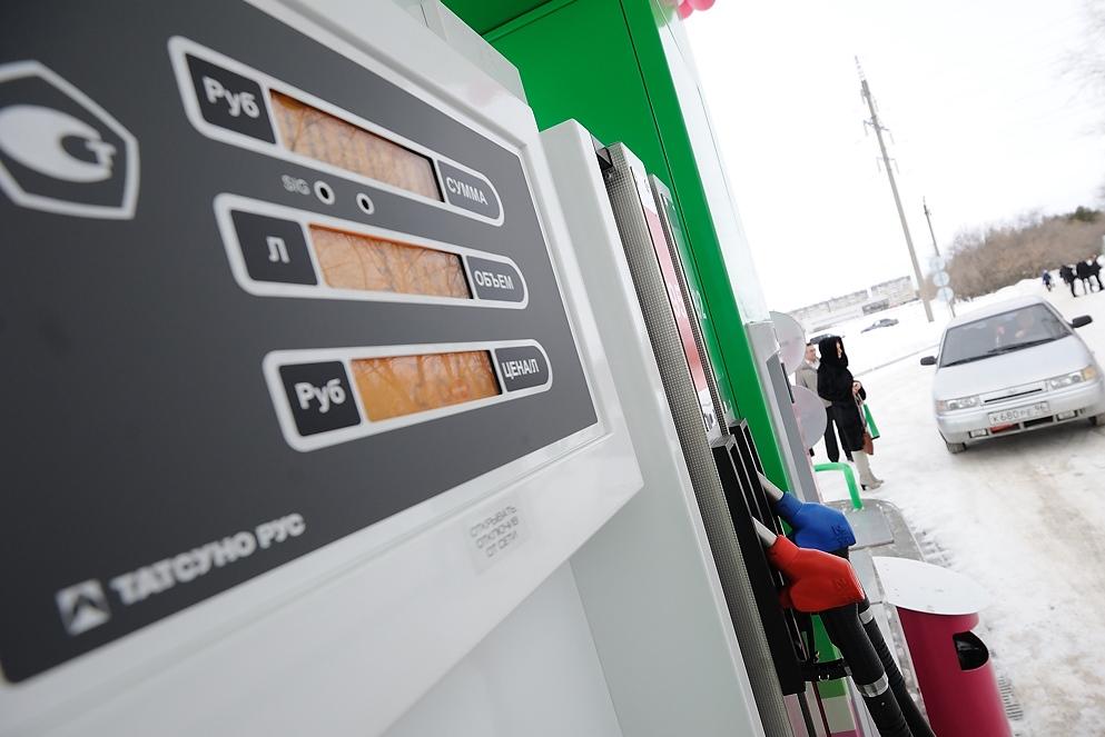 Мониторинг цен на АЗС: за январь топливо чуть подешевело