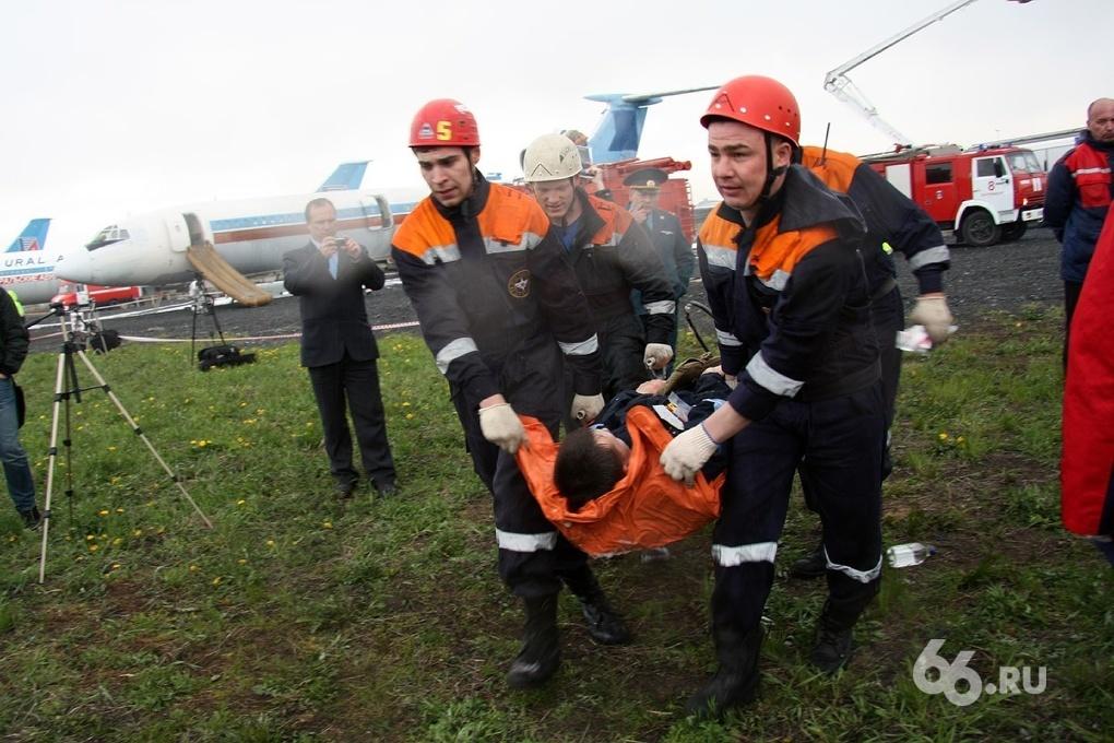 Якобы обучили треть горожан действовать в чрезвычайных ситуациях