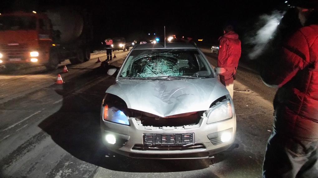На ЕКАДе Ford Focus насмерть сбил девушку