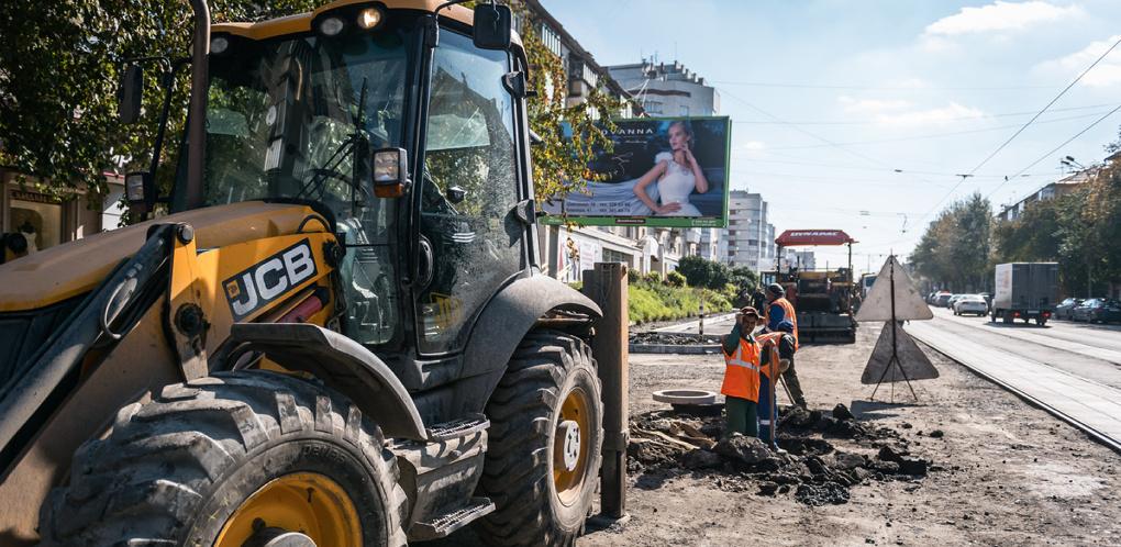 Полсотни улиц: список дорог, которые отремонтируют в Екатеринбурге в 2017 году