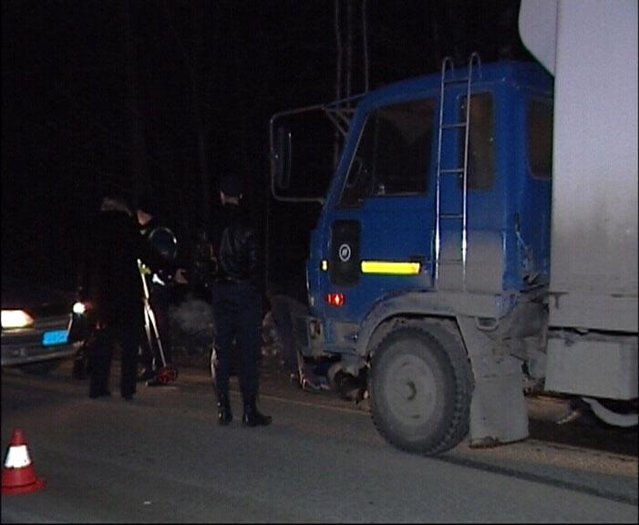 Под Екатеринбургом грузовик насмерть сбил пешехода