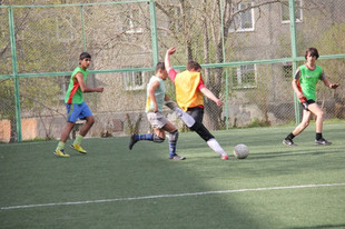 В Екатеринбурге футбольные болельщики сыграют в поддержку ЧМ-2018