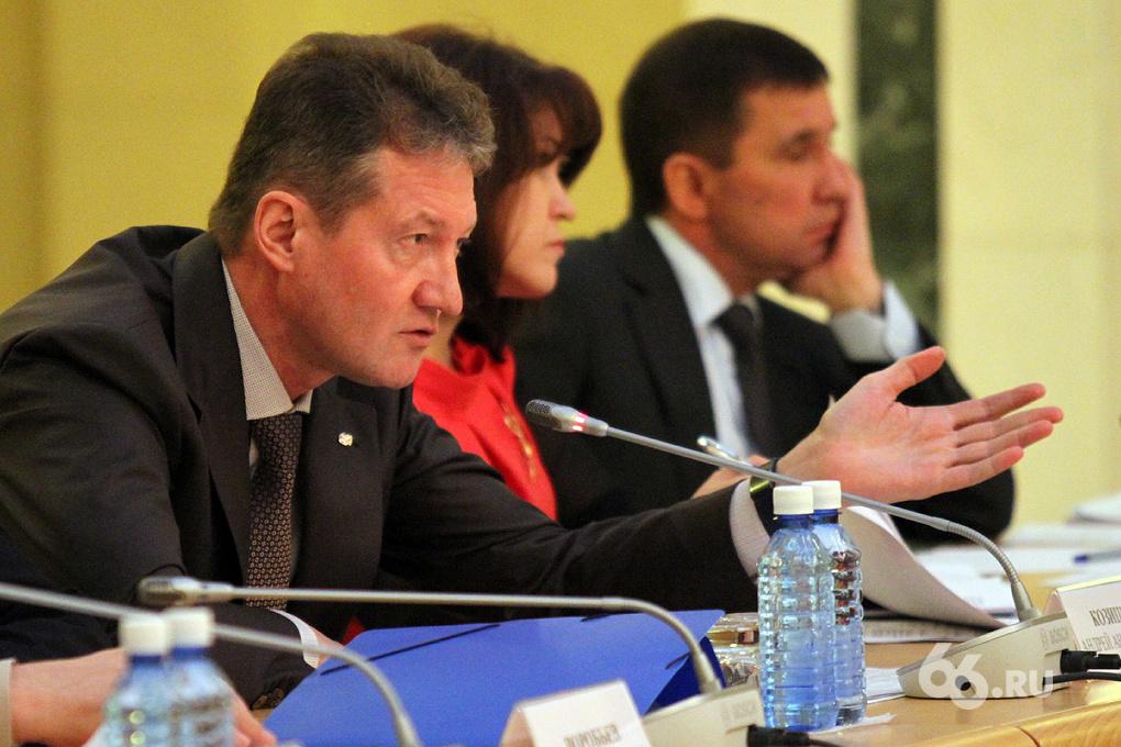 Зачет: олигарх Козицын преподал урок инвестиций губернатору Куйвашеву