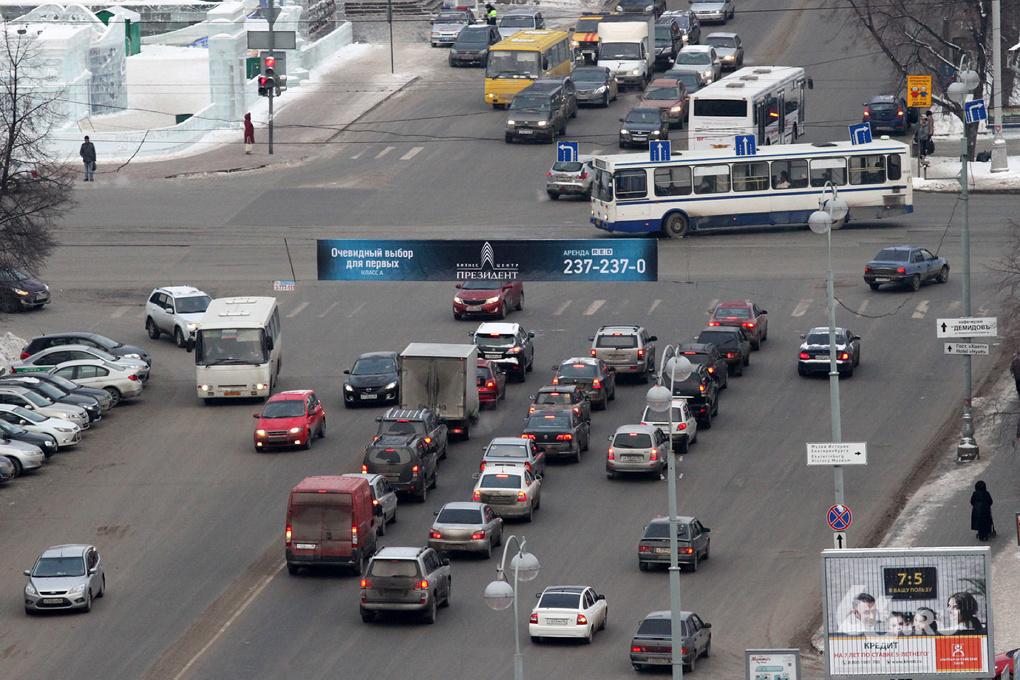 Мэрия закупит детекторы транспорта для разгрузки дорог