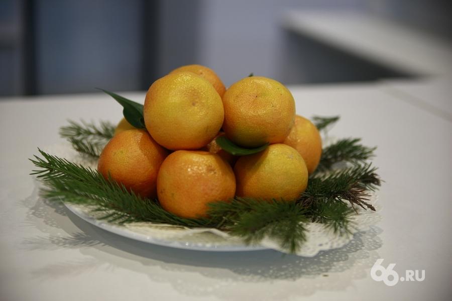 В область спустя 8 лет вернулись мандарины из Грузии