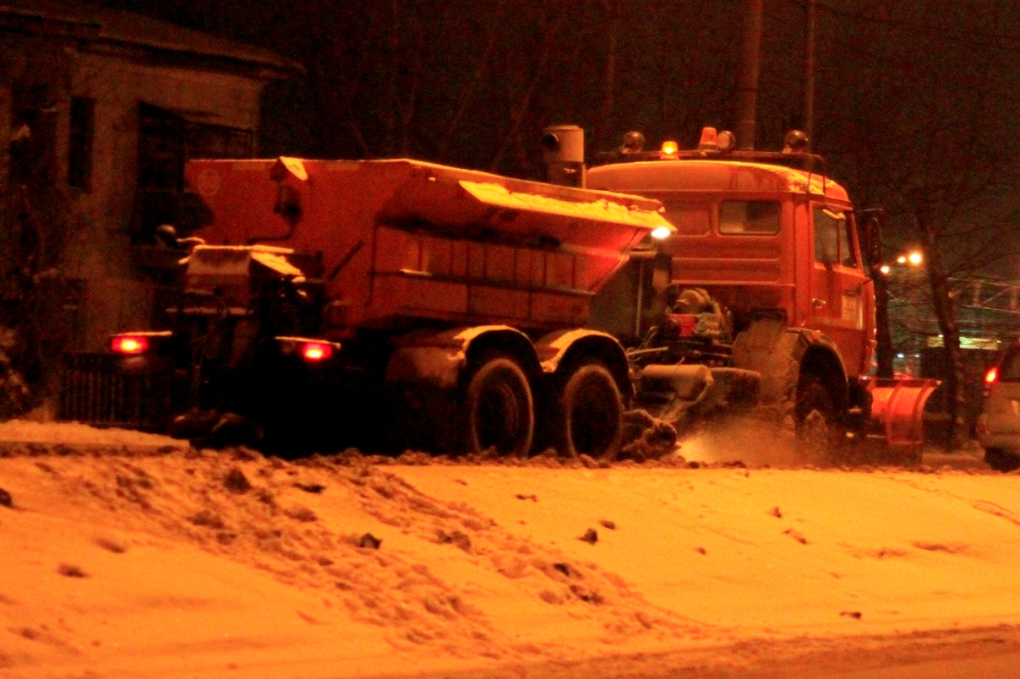В Екатеринбурге снизили план по вывозу снега