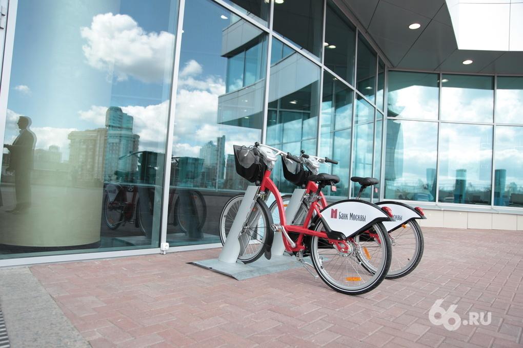 Как в Европе: в Екатеринбурге обустроят сеть городских велопрокатов