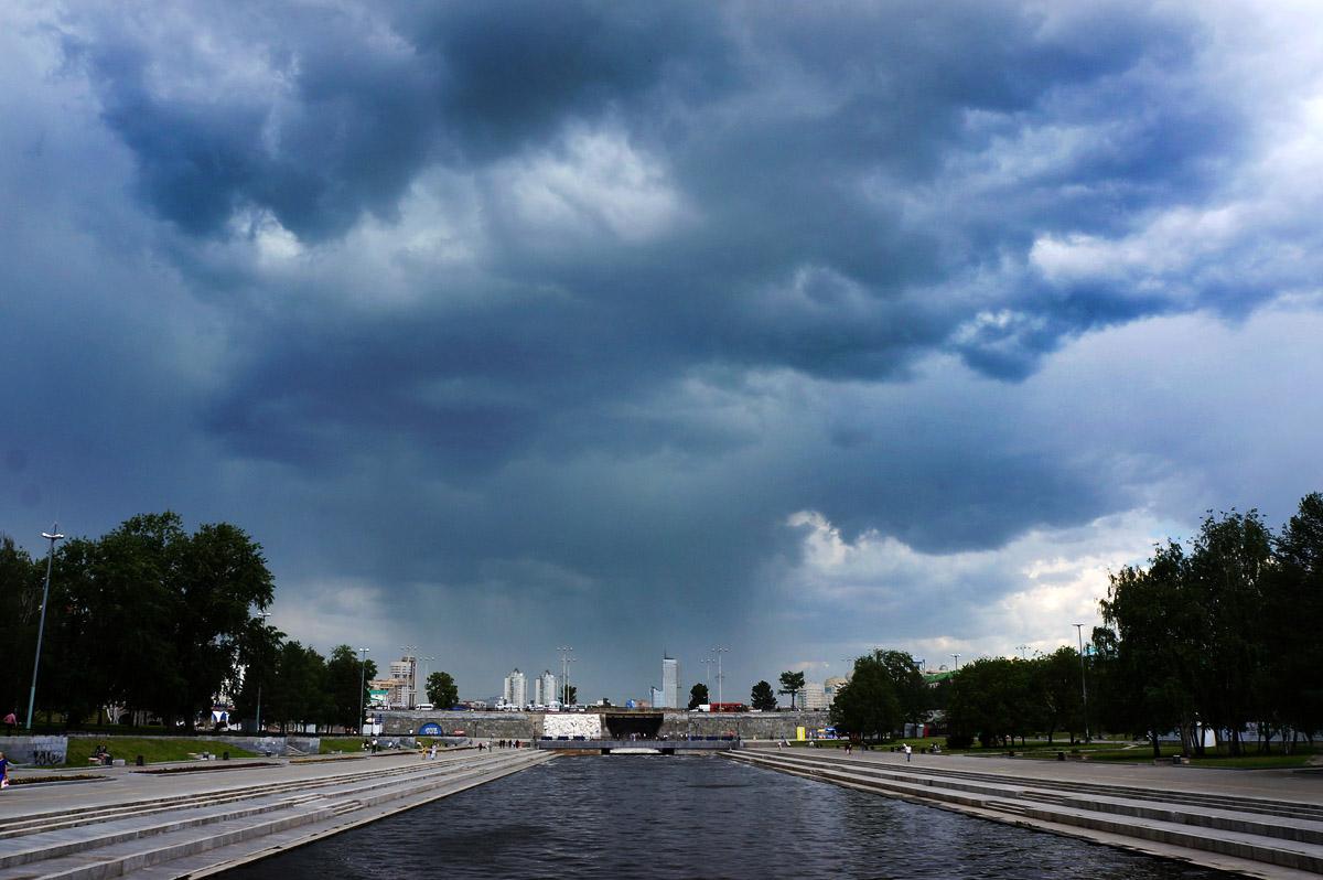 Екатеринбургу придется терпеть дожди до начала августа