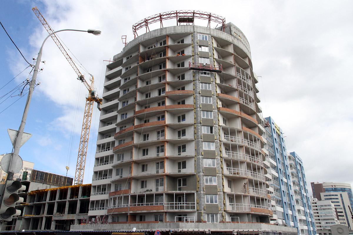 10 главных строек 2014. Новое жилье в центре становится большой редкостью