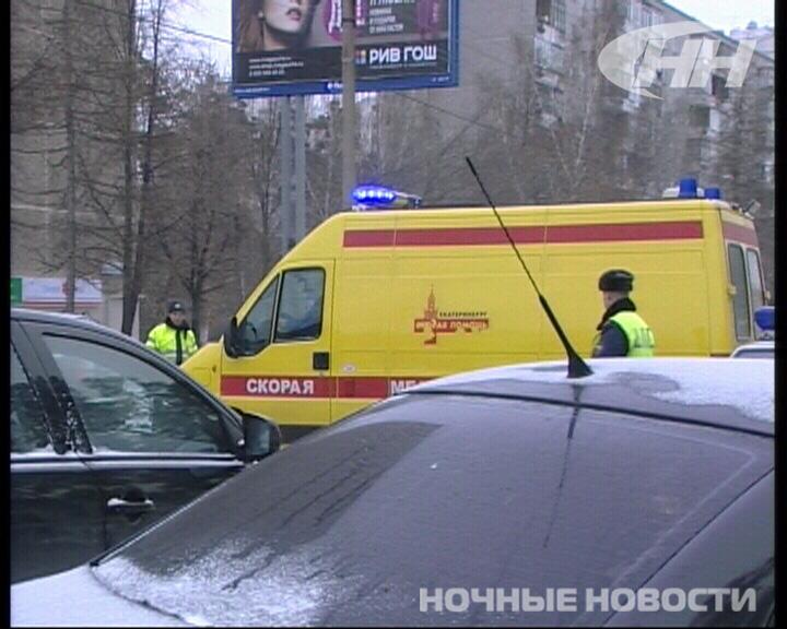 В аварии на Волгоградской пострадала беременная женщина