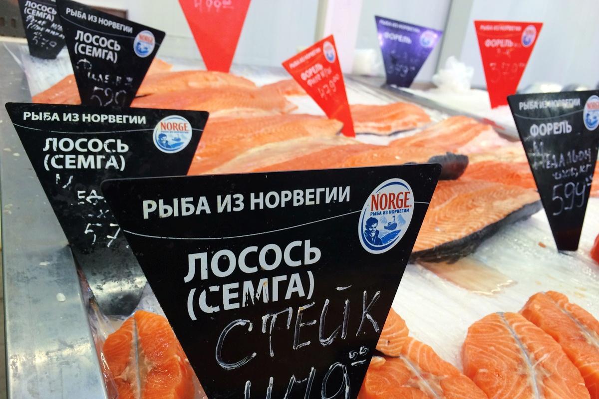 Китайская рыба и молоко из Южной Америки. Власти нашли новых поставщиков запрещенной еды