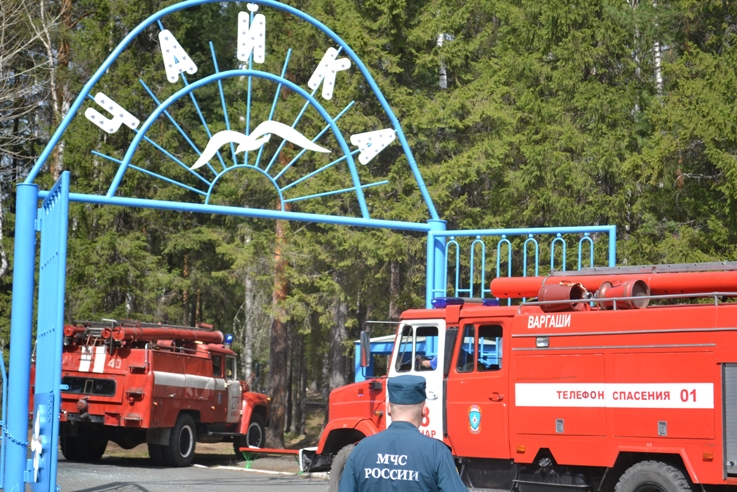 Свердловские спасатели назвали пожароопасные детские лагеря