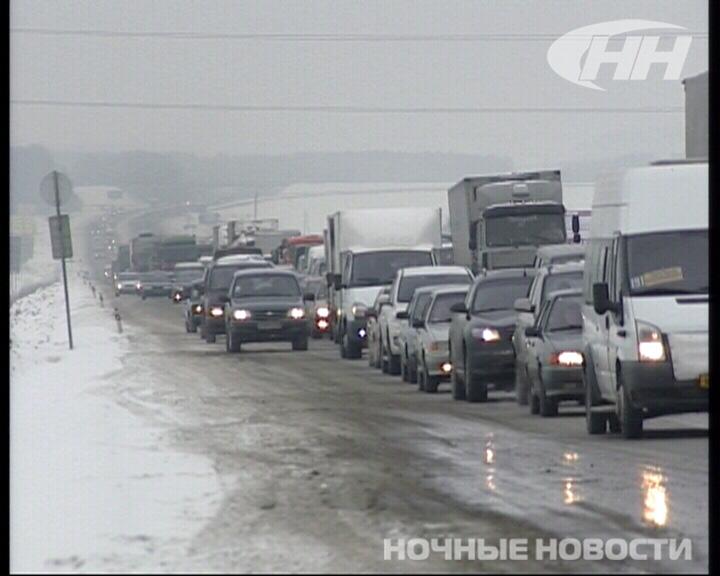 Массовое ДТП на Тюменском тракте произошло из-за скользкой дороги