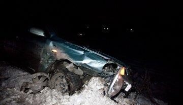 В Первоуральске «пятнадцатая» врезалась в автобус и сгорела дотла