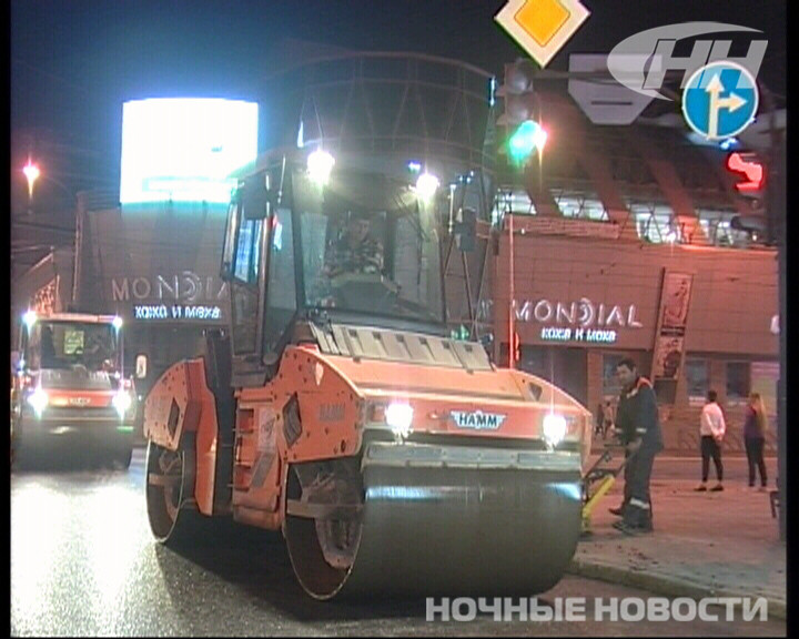 Чиновники проверили, как ремонтируются дороги в центре Екатеринбурга