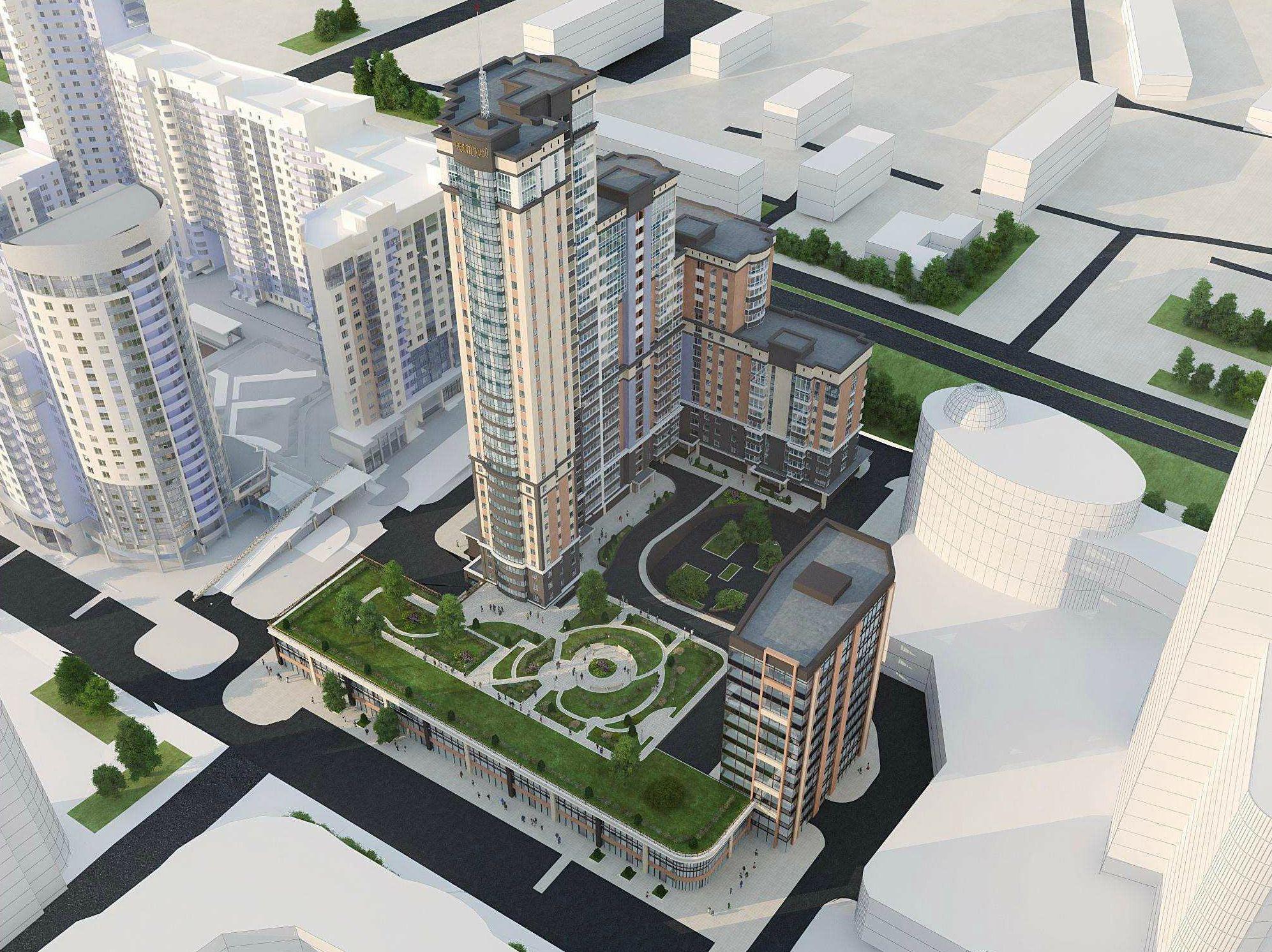 На месте снесенного домика на Шейнкмана будет 32-этажный небоскреб