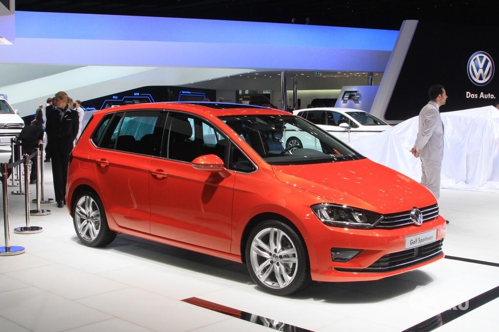 Volkswagen Golf Plus больше не будет. Sportsvan за него